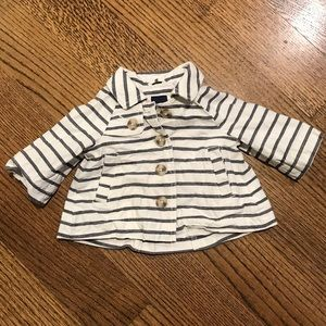 Baby Gap girl's striped jacket size 0-6 months